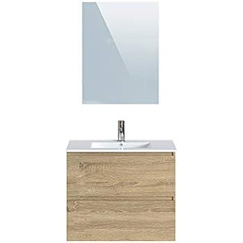 Waschtisch mit Spiegel und Waschbecken Wei/ß Marke -/Movian Dive 61/x/46,5/x/68/cm