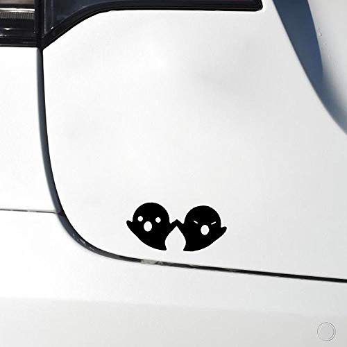 Wangcai 15,2 * 7,2 Coolsten Halloween Ghost Decor Auto Aufkleber Zubehör Vinyl Silhouette Grafik 2St