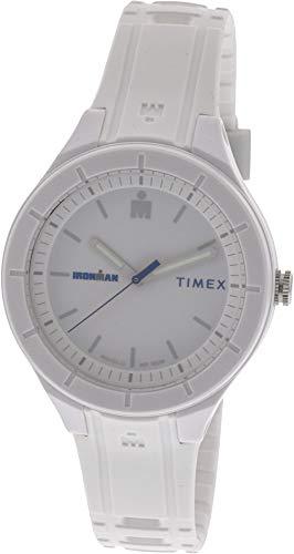 Preisvergleich Produktbild Timex Ironman Essential TW5M17400 Matte White Silicone Analog Quartz Sport Watch
