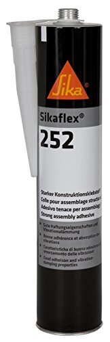 Preisvergleich Produktbild Sika 1372 Sikaflex-252i 1K Polyurethanklebstoff, 600 mL, Weiß