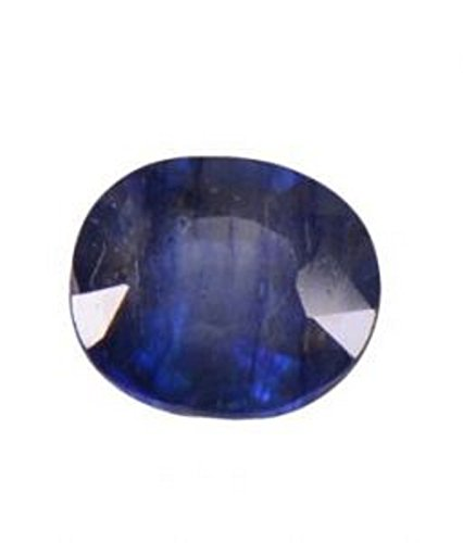 bf34233953112 SHREE SHYAM Blue Sapphire/Neelam 13.25 Ratti Lab Certified Natural Neelam  Gemstone For Astrological Purpose
