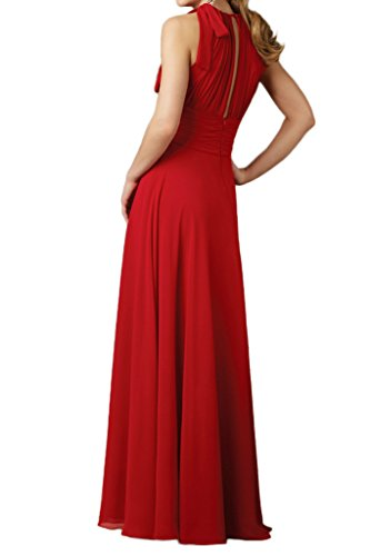 TOSKANA BRAUT - Robe - Trapèze - Femme Rouge - Rouge