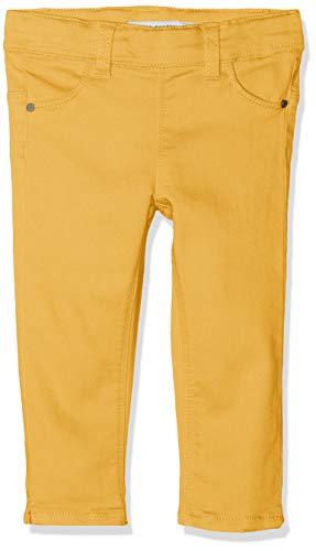 NAME IT Mädchen NMFPOLLY TWIBATINNA Capri Legging Hose, Gelb Pale Marigold, (Herstellergröße: 104)