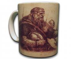 Lokis Truhe Große Tasse Kaffee Becher Pott Mug Wikinger Kampf Nordmänner Nordische Mytholie Götter Walhalla Asgard Ragnarök -