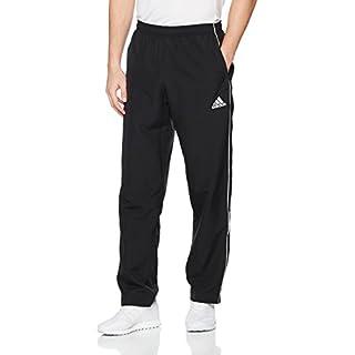 adidas Herren Core 18 Hose, schwarz (Black/White), S