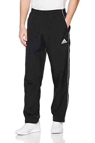 adidas Herren Core 18 Hose, Black/White, XL