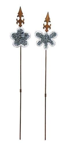 Legler Metall-Spieß Spiegelmosaik, 2er Set