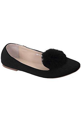 Fantasia Boutique, Ballerines Femme Noire