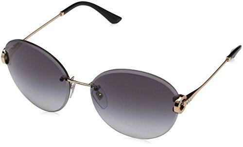 Bulgari Damen 0Bv6091B 20148G 61 Sonnenbrille, Gold (Pink/Grey)