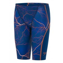 Speedo 8 – 10628 C199 Badehose, Kinder L blau (fast blue/fluo orange)