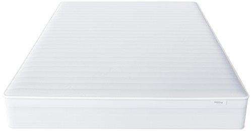 Hilding Sweden Essentials Federkernmatratze in Weiß / Mittelfeste Matratze mit orthopädischem 7-Zonen-Schnitt für alle Schlaftypen (H2-H3) / 200 x 90 x 22 cm