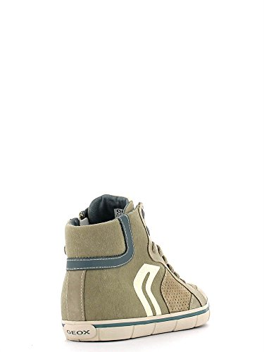 Geox Jungen Kiwi D Sneaker Sand/sage