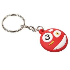 New Number Three 3 Mini Pool Billiard Ball Key Chain: Amazon