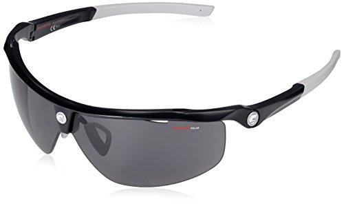 Carrera Radsport - Brille C-TF02 Sonnenbrille, Schwarz (Black Matte), 76