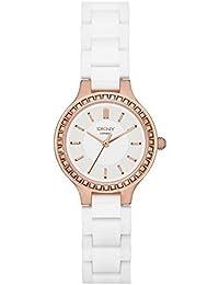 DKNY Damen-Armbanduhr XS Analog Quarz Keramik NY2251