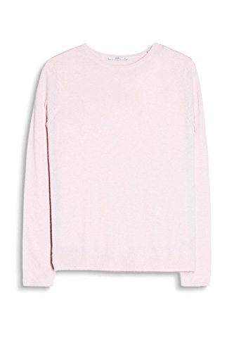 edc by ESPRIT Damen Pullover Rosa (LIGHT PINK 690)