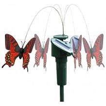 Batteriebetrieb auch möglich Größe 7cm x 8cm Solar Schmetterling
