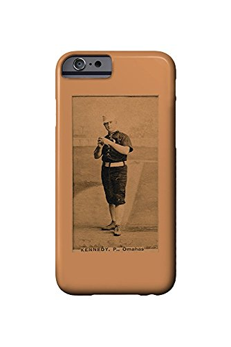 Omaha Minor League - Ted Kennedy - Baseball Card (iPhone 6 Cell Phone Case, Slim Barely There) -