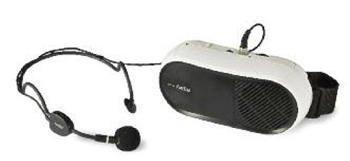 Fonestar FAP-10 - Amplificador compacto de cintura (10 W + 7 W, 270-20000 Hz)