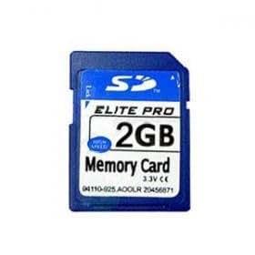 Carte mémoire SD 2Go pour TomTom One V1 V2 V3
