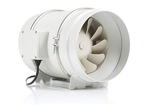 STERR - Extractor en línea con ventilador de conductos silenciosos 200 mm - DFA200