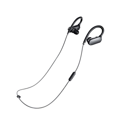 Xiaomi Mi Sports Bluetooth Earphone è AURICOLARE bluetooth, colore nero, connessione bluetooth per smartphone android e ios, impermeabile con microfono e audio di qualità