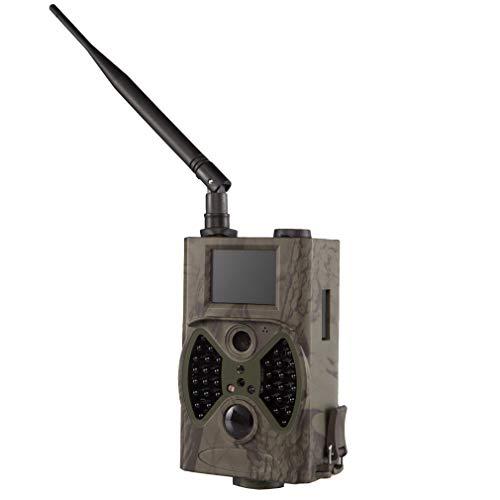 Luckyza 12MP MMS Beutekameras HD 1080P IP66 Digital Überwachungskamera Nachtsicht 20M Und 2,4-Zoll-LCD-Anzeige Für Die Sicherheit Im Außenbereich