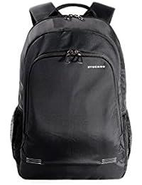 """Tucano Forte Pack - Zaino in nylon per notebook da 15.6"""" e MacBook Pro 15"""" Retina, Nero"""