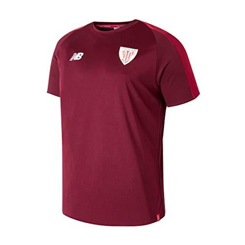 New Balance AC Bilbao Training 2018-2019 Niño, Camiseta, Garnet, Talla MB