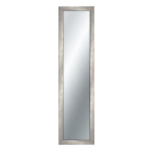 Lupia - Espejo de pared con marco de madera de estilo shabby Boston