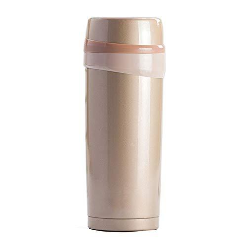 TDMLFF Vakuum-Edelstahl-Isolierflasche vorzügliches kompaktes tragbares Wasser-im Freienglas (Farbe : 1)