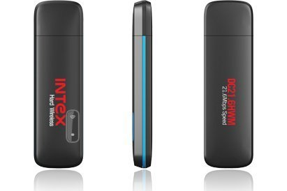 Intex DC 21.6HWM Wi-Fi USB 2.0 Hard Wireless Data Card (Black)