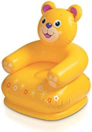 Intex 68556 Inflatable Happy Animal Chair, Assorted Color
