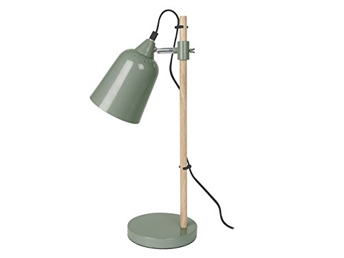 present-time-lm1233-lampe-de-table-wood-like-metal-25-w-e14-vert-485-x-12-x-12-cm