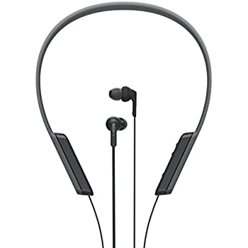 sony bluetooth earbuds. sony mdr-xb70bt extra bass bluetooth in-ear neckband headphone - black earbuds p