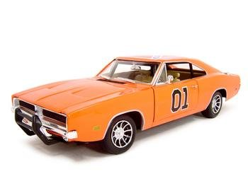1969 Dodge Charger Dukes of Hazzard General Lee Diecast Model