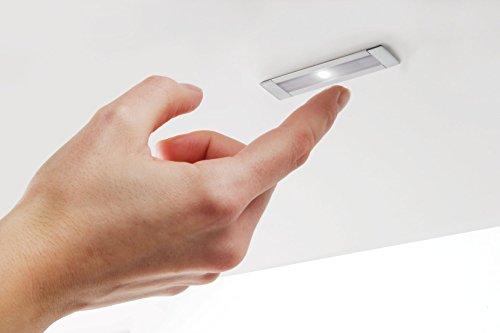 RONIN FURNITURE FITTINGS® LED Dimmer 12-24 VDC zum einfräsen Aluminium natur DO.108.4905