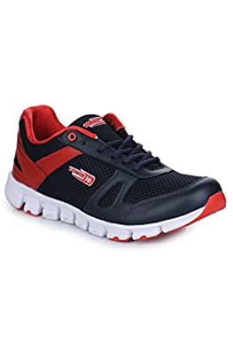 Liberty Men Red Lacing Sports Shoes