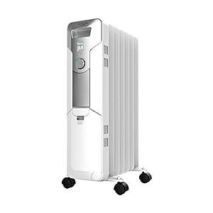 Cecotec Radiador de Aceite Ready Warm 5600 Space. 7 Módulos, Bajo Consumo, Termostato Regulable, 3 Niveles de Potencia…