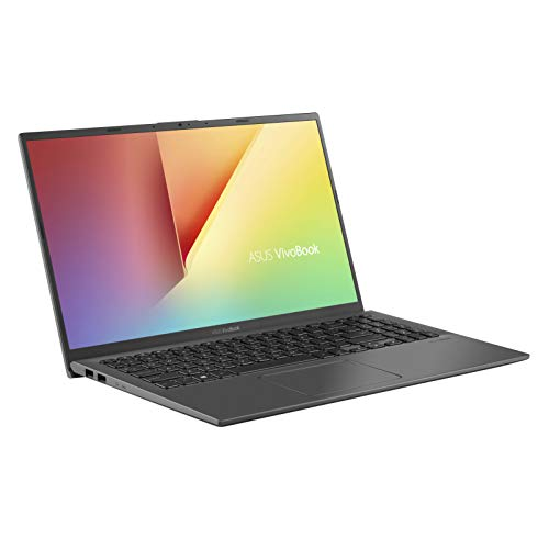 ASUS VivoBook 15 F512FA (90NB0KR3-M08210) 39,6 cm (15,6 Zoll, FHD, WV matt) Notebook (Intel Core i5-8265U, 8GB RAM, 512GB SSD, Intel UHD-Grafik 620, Windows 10) slate grey
