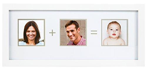 Pearhead 85143 Familien Foto Rahmen, weiß