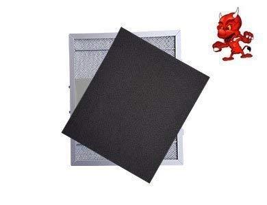 1 Set Aktivkohlematten Kohlematten Filtermatten Aktivkohlefilter Filter Kohlefilter in Premium Qualität passend für Dunstabzugshaube Abzugshaube Exquisit UBH 08, UBH08