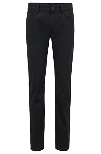 BOSS Herren Delaware BC-C Slim Jeans, Schwarz (Black 002), W36/L32 (Herstellergröße: 3632) -