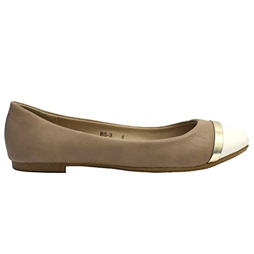 Lily Shoes ,  Ballerine donna Beige / Nude / Blush
