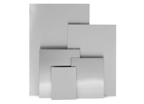 gnettafel, 90x60 cm, edelstahl matt (Magnettafel Edelstahl)