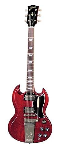 GIBSON CUSTOM SHOP SG STANDARD REISSUE MAESTRO VOS FADED CHERRY + CASE Electric guitars Custom Shop