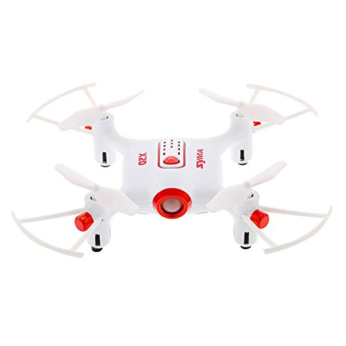 Syma X20 Pocket Drone 2.4Ghz Remote Control Mini RC Quadcopter with Altitude Hold and One Key Take-off / Landing,White