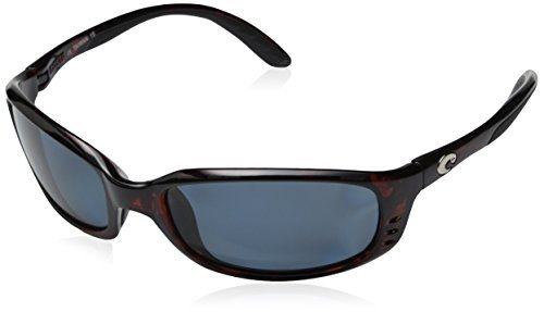 Costa Del Mar Brine Sunglasses Tortoise/Gray 580Plastic BR10OGP