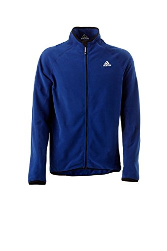 adidas Sailing Herren Microfleece Jacke Full Zip Men, Farbe:dunkelblau, Größe:XL