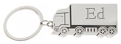 Ed-truck (Kundenspezifischer gravierter Metall Lkw Schlüsselanhänger mit Aufschrift Ed (Vorname/Zuname/Spitzname))
